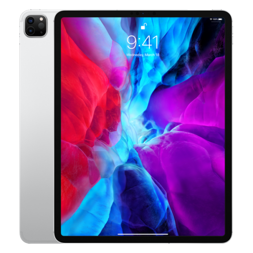 "Apple 12.9"" iPad Pro Cellular 256GB - Silver (2020)"