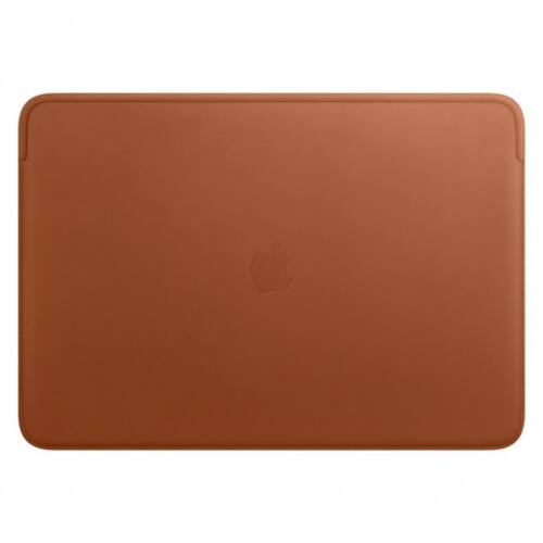 Apple Leather Sleeve for 16-inch MacBook Pro - Saddle Brown