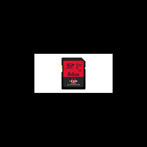 GOODRAM Memóriakártya SDXC 64GB UHS-II V60