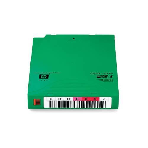 HP Adatkazetta Ultrium LTO4 1,6TB RW  NON CUSTOM-LABELLED, 20db