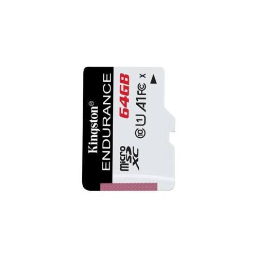 KINGSTON Memóriakártya MicroSDXC 64GB High Endurance 95R/30W C10 A1 UHS-I