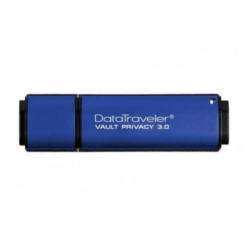 KINGSTON Pendrive 32GB, DT Vault Privacy USB 3.0, 256bit AES FIPS 197