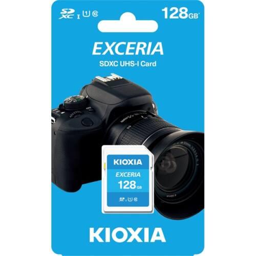KIOXIA Memóriakártya SDXC 128GB CL10 UHS-I U1 (TOSHIBA)
