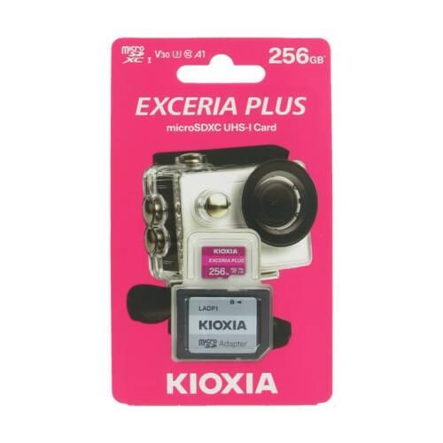 KIOXIA Memóriakártya SDXC 256GB CL10 UHS-I U3 + adapter (TOSHIBA)